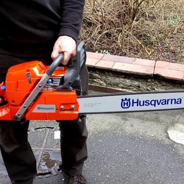 Máy cưa xích cầm tay Husq 390XP chính hãng Thụy điển