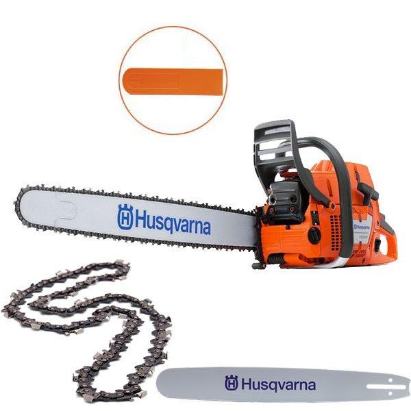 Máy cưa xích cầm tay Husqvarna 390XP hàng chính hãng Thụy điển