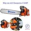 Máy cưa xích chạy xăng 2 thì Husqvarna công xuất máy khoẻ, tăng tốc nhanh, tiết kiệm nhiên liệu