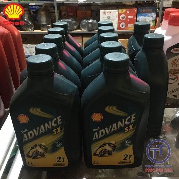 Nhớt 2 thì Shell ADVANCE 1 lít số 4