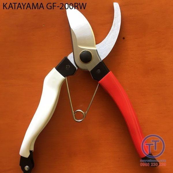 Kéo cắt cành đỏ Japan KATAYAMA GF-200RW 200mm 1.5