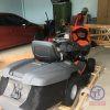 Máy cắt cỏ người lái Husq TC138L New 7